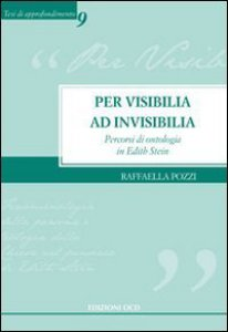 Copertina di 'Per visibilia ad invisibilia'