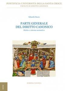 Copertina di 'Parte generale del Diritto Canonico'