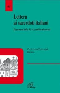 Copertina di 'Lettera ai sacerdoti italiani. Documenti della 56ª Assemblea'