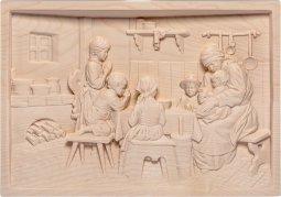 Copertina di 'La preghiera - Demetz - Deur - Statua in legno dipinta a mano. Altezza pari a 34 cm.'