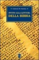 Invito alla lettura della Bibbia - De Martino Umberto