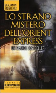 Copertina di 'Lo strano mistero dell'Orient Express'