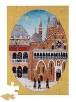 """Puzzle """"Scorcio della Basilica del Santo e del chiostro"""" (48 pezzi)"""