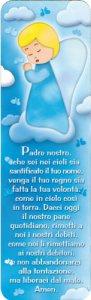 """Copertina di 'Segnalibro """"Padre Nostro"""" - dimensioni 13x4 cm'"""