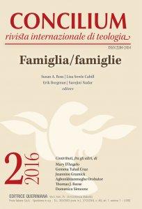 Copertina di 'Concilium 2-2016: Famiglia/famiglie'