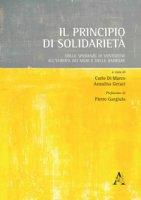 Il principio di solidarietà. Dalle speranze di Ventotene all'Europa dei muri e delle barriere