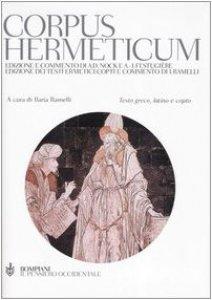 Copertina di 'Corpus hermeticum. Con testo greco, latino e copto'