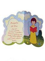 """Dittico-nuvoletta """"Angelo di Dio"""""""