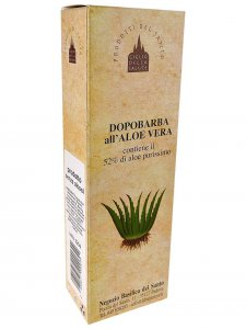 Copertina di 'Dopobarba all'aloe vera 50 ml.'