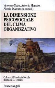 Copertina di 'La dimensione psicosociale del clima organizzativo'