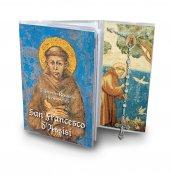Libretto con Rosario San Francesco d'Assisi e rosario - italiano