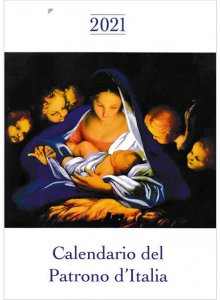 Copertina di 'Calendario del Patrono d'Italia 2021'