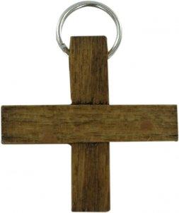 Copertina di 'Croce in legno naturale - 2,5 cm'