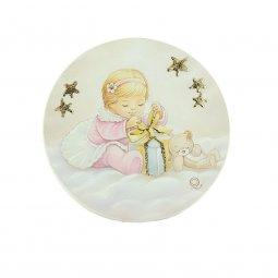 Copertina di 'Icona a mezza sfera con LED per bambina - dimensioni 10x10 cm'