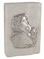 Scatola in madreperla con Madonna del Ferretti - dimensioni 7,5x5 cm