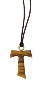 Copertina di 'Tau in legno di ulivo da 2,5 cm (croce di San Francesco d'Assisi) - 50 pezzi'