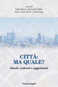 Copertina di 'Città: ma quale?'