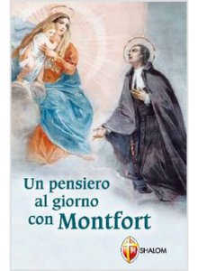 Copertina di 'Un pensiero al giorno con Montfort'