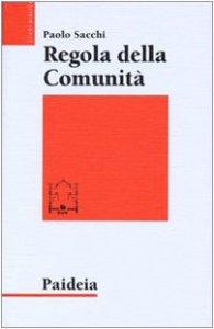 Copertina di 'Regola della comunità'
