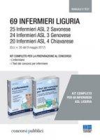 69 Infermieri Liguria. Kit completo per la preparazione al concorso