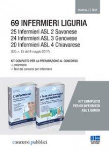 Copertina di '69 Infermieri Liguria. Kit completo per la preparazione al concorso'