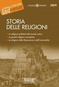 Copertina di 'Storia delle religioni'