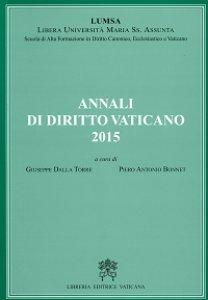 Copertina di 'Annali di Diritto Vaticano 2015'