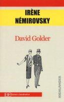 David Golder - Némirovsky Irène