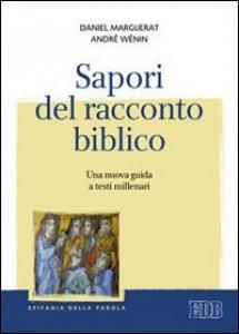 Copertina di 'Sapori del racconto biblico'