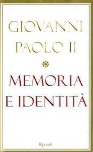 Copertina di 'Memoria e identità. Conversazioni a cavallo dei millenni'