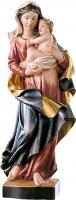 Statua della Madonna dei nomadi da 70 cm in legno dipinto con colori a olio - Demetz Deur