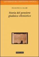 Storia del pensiero giudaico-ellenistico - Calabi Francesca