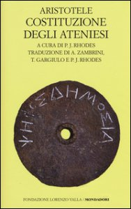 Copertina di 'Costituzione degli ateniesi'
