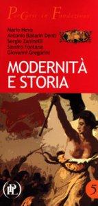 Copertina di 'Modernità e storia.'