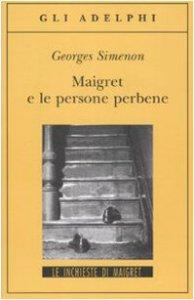 Copertina di 'Maigret e le persone perbene'