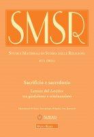 SMSR. 87/1 (2021): Sacrificio e sacerdozio