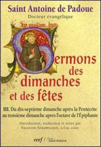 Copertina di 'Sermons des dimanches et des fêtes III'