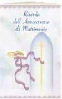 Libretto ricordo dell'Anniversario di Matrimonio