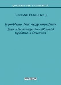 Copertina di 'Il problema delle «leggi imperfette»'