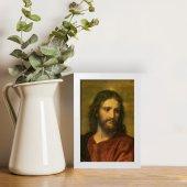 """Immagine di 'Quadretto """"Cristo Redentore"""" con cornice minimal - dimensioni 15x10 cm'"""