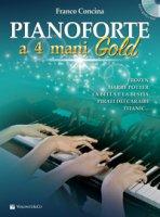 Pianoforte a 4 mani gold. Con CD-Audio - Concina Franco