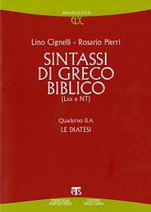 Copertina di 'Sintassi di greco biblico (LXX-NT)'