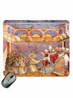 """Mousepad """"Approvazione della Regola"""" - Giotto"""