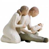 "Statua in resina ""Vita nuova"" - altezza 11 cm"