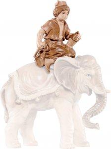 Copertina di 'Conducente d'elefante H.K. - Demetz - Deur - Statua in legno dipinta a mano. Altezza pari a 11 cm.'