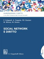 Social network e diritto - e-Book - Francesco Colapaoli, Anna Coppola, Francesca Romana Graziani, Mariarita Mirone, Marco Zonaro