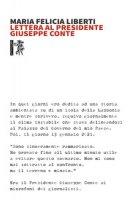 Lettera al Presidente Giuseppe Conte - Liberti Maria Felicia