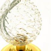 Immagine di 'Lume a forma di goccia con base dorata'