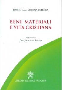 Copertina di 'Beni materiali e vita cristiana'