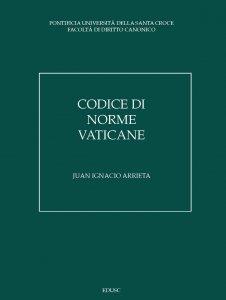 Copertina di 'Codice di norme vaticane'